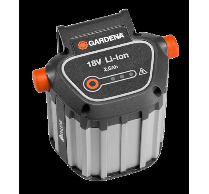 Аккумулятор Gardena литий-ионный BLi-18/2,6Ач по лучшей цене в наличии
