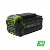 Аккумулятор GreenWorks G40B4, 40V, 4 А.ч Li-ion